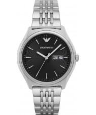 Emporio Armani AR1977 Mens robe argent montre bracelet en acier