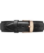 Daniel Wellington DW00200084 Dapper 19mm sheffield or rose bracelet de rechange