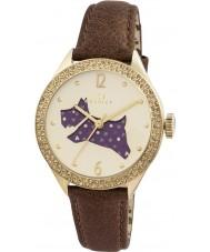 Radley RY2210 Mesdames bracelet en cuir brun regarder avec des pierres