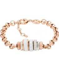 Fossil JF01121998 Ladies classiques rose bracelet chaîne en acier or