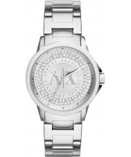 Armani Exchange AX4320 Mesdames argent urbain jeu de pierre montre