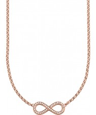 Thomas Sabo KE1312-416-14 18k dames plaqué or rose collier infini