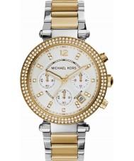 Michael Kors MK5626 Mesdames parker deux tons montre chronographe en acier