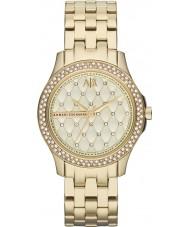 Armani Exchange AX5216 plaqué or pour dames montre habillée bracelet