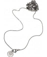 Edblad 116130171 longue chaîne d'acier d'argent pour dames