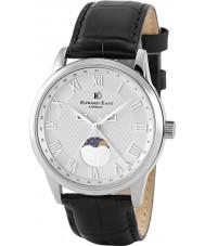 Edward East EDW1898G14 Mens cuir noir montre bracelet