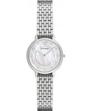 Emporio Armani AR2511 Mesdames robe argent montre bracelet en acier