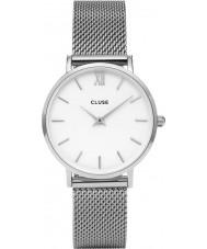 Cluse CL30009 montre dames minuit en maille