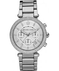 Michael Kors MK5353 Mesdames blair ton argent montre chronographe
