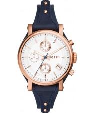 Fossil ES3838 Mesdames petit ami d'origine montre chronographe bleu