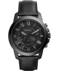 Fossil FS5132 Mens accordent noir montre chronographe