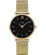 Cluse CL30012 montre dames minuit en maille