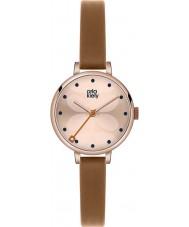 Orla Kiely OK2034 Mesdames lierre tan montre bracelet en cuir