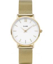 Cluse CL30010 montre dames minuit en maille