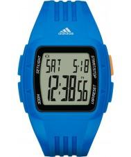 Adidas Performance ADP3234 Duramo résine bleue montre bracelet
