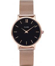 Cluse CL30016 montre dames minuit en maille
