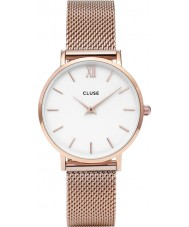 Cluse CL30013 montre dames minuit en maille