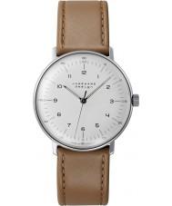 Junghans 027-3701-00 Max Bill brun tan remontage manuel montre mécanique