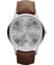 Emporio Armani AR2463 Mens classique montre gris brun