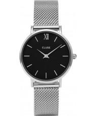 Cluse CL30015 montre dames minuit en maille