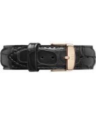Daniel Wellington DW00200014 Classique lecture de 20mm en or rose bracelet de rechange