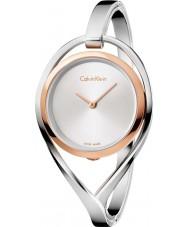 Calvin Klein K6L2MB16 Mesdames lumière argent montre bracelet en acier