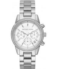 Michael Kors MK6428 Mesdames plaqué argent ritz montre chronographe