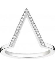 Thomas Sabo D-TR0020-725-14-52 Mesdames glam et de l'âme 925 diamants bague en argent - taille M.5 (UE 52)