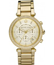 Michael Kors MK5354 plaqué or Ladies blair montre chronographe