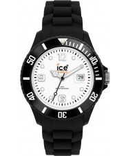 Ice-Watch SI.BW.B.S grosse montre noire Ice-blanc