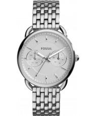 Fossil ES3712 Mesdames tailleur montre bracelet en acier argent