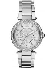 Michael Kors MK5615 Mesdames parker acier argenté montre bracelet