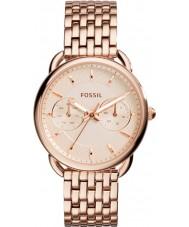 Fossil ES3713 tailleur dames or rose montre bracelet en acier