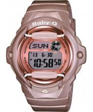 Casio BG-169G-4ER Ladies baby-g Télémémo temps du monde résine rose montre bracelet