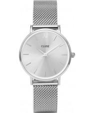 Cluse CL30023 montre dames minuit en maille