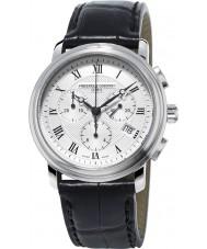 Frederique Constant FC-292MC4P6 classiques Hommes noir montre chronographe