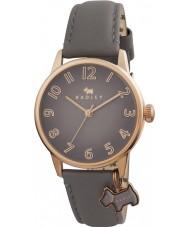 Radley RY2248 Mesdames surdimensionné montre de charme chien avec marsupial bracelet en cuir