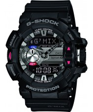 Casio GBA-400-1AER Mens g-shock bluetooth noir montre combi