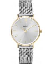 Cluse CL30024 montre dames minuit en maille