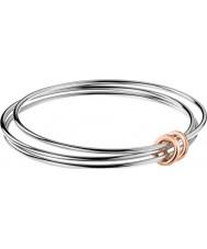 Calvin Klein KJ5HMD2001 Mesdames agile deux tons rose bracelet plaqué or - taille m