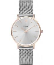 Cluse CL30025 montre dames minuit en maille