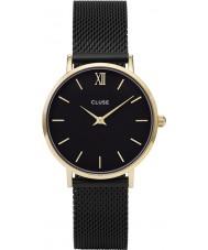 Cluse CL30026 montre dames minuit en maille