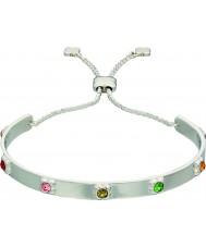 Orla Kiely B4850 Mesdames sterling Bracelet fleur d'argent avec des détails swarovski
