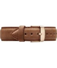 Daniel Wellington DW00200127 18mm Classique durham or rose bracelet de rechange