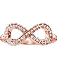 Thomas Sabo Bague en or rose rose
