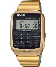 Casio CA-506G-9AEF collection Mens ton or montre calculatrice