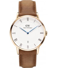 Daniel Wellington DW00100115 Dapper 38mm durham montre en or rose