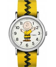 Timex TW2R41100 Montre weekender Peanuts