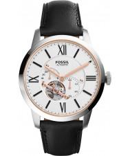 Fossil ME3104 automatique cuir noir montre bracelet de Mens