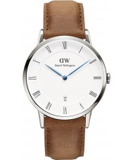 Daniel Wellington DW00100116 38mm Dapper montre durham d'argent